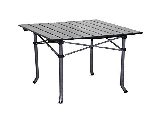 Ore International M61618 Aluminum Roll Slat Kid's Table Dove Gray 19.75 x 21-Inch [並行輸入品] B072ZBYFL6
