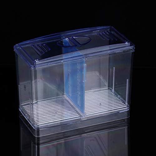 POPETPOP Caja de Cría de Peces de Acuario Incubación de Peces Caseros 8