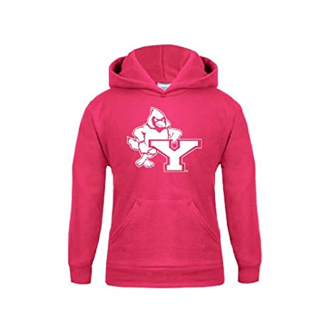 b186df0817f2 Amazon.com   York College Youth Raspberry Fleece Hoodie  Cardinal ...