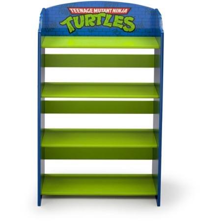 Sturdy Delta Children Teenage Mutant Ninja Turtles Bookshelf