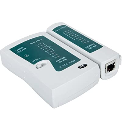 Network Lan Cable Tester by Crazy Cart