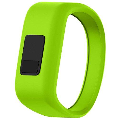 QGHXO Band for Garmin Vivofit Jr/Vivofit Jr. 2, Soft Silicone Replacement Watch Band Strap for Garmin Vivofit Jr/Vivofit Jr. 2 Activity Tracker, Small, Large