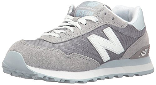 New Balance Womens 515 Core Pack Lifestyle Fashion Sneaker, azul (Steel/Light Porcelain Blue), 36.5 EU/4 UK
