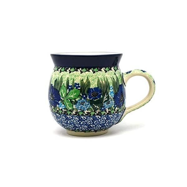Polish Pottery Mug – 11 oz. Bubble – Unikat Signature U4629