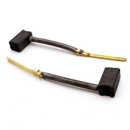 Replacement Part 445861-25 Carbon Brushes (1 pair) for DeWalt / Black & Decker Power Tools, Porter Cable, Drill,Jig Saw,Gauge Shear,Plate Joint,Sander,Grinder,Gauge Nibbler,Polisher