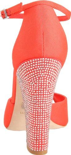 Badgley Mischka - Zapatos para mujer Rojo (Rot (Watermelon Frabic))