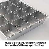 Adjustable Cake Tin,Multifunction Aluminum Cake