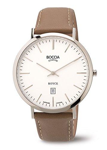3589-01 Boccia Titanium Mens Watch
