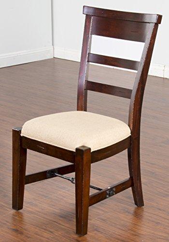 Sunny Designs 1604RM Vineyard Side Chair, Rustic Mahogany Finish (Rustic Mahogany)
