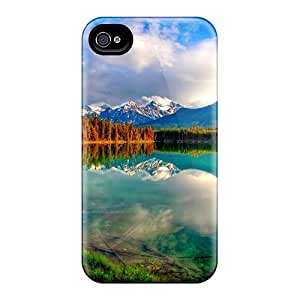 New Snap-on CalmCases Skin Case Cover Compatible With Iphone 4/4s- The Waters Of Heaven