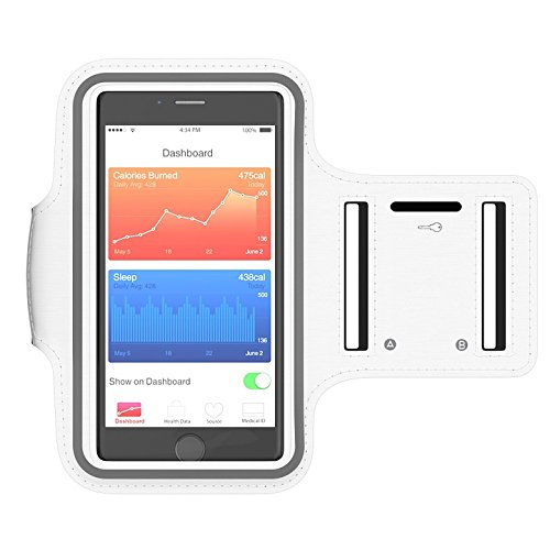 Print on Metal Sports Armband Smartphone Sport Run Jogging Print 12 x 18. Worry Free Wall Installation - Shadow Mount is Included.