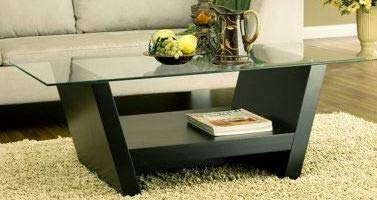Amazon.com: Cofee Table Center Tables for Living Room Black ...