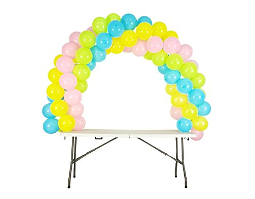 Balloon Arch Kit Adjustable for Different Table Sizes Birthday, Wedding, Christmas, and Graduation Party - Pole Christmas Frame