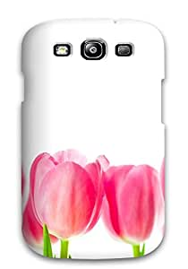 Best 3801676K99394828 premium Phone Case For Galaxy S3/ Flower Tpu Case Cover