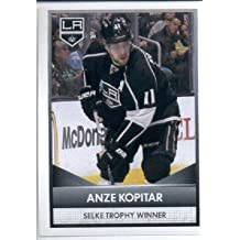 2016-17 Panini NHL #6 Selke Trophy Winner ~ Anze Kopitar 2015-16 NHL Awards Hockey Sticker