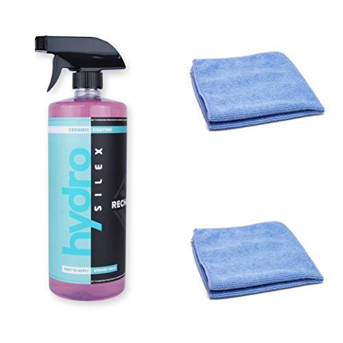 Hydrosilex Recharge 32oz & 2 Microfiber Towels