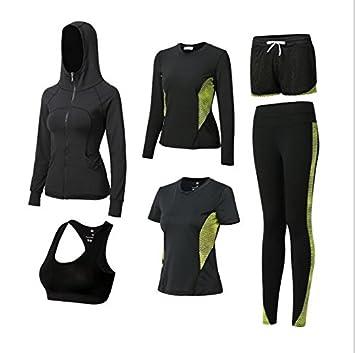 6 piezas de la mujer Casual Sport trajes 8eddcce6bac1