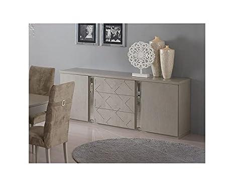 Credenza Moderna 2 Ante : Montefiore design madia moderna 2 ante e 3 cassetti in legno laccato