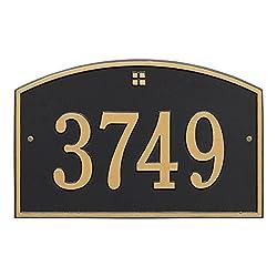 """1 Line Cape Charles Address Plaque 15""""L x 10""""H"""