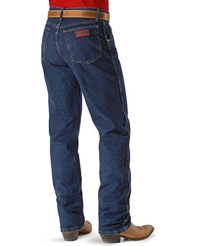 Wrangler Men's 20X Original Fit Jean,Stone Dark (Cotton Denim Mens Jeans)