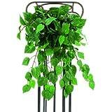 Philobusch, grün, dicht mit 180 Blätter, Länge 60cm - künstliche Ranken Kunstpflanzen Kunstblumen Efeuranken