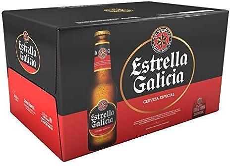 Estrella Galicia Cerveza, Pack 24 botellines. Estrella Galicia ...