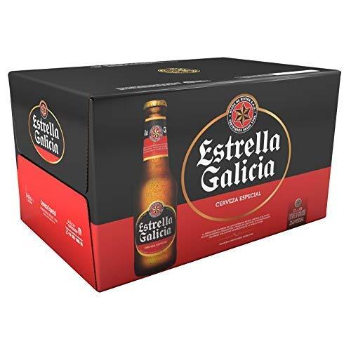Estrella Galicia Especial Cerveza – Pack de 24 botellines x 250 ml – Total: 6 L