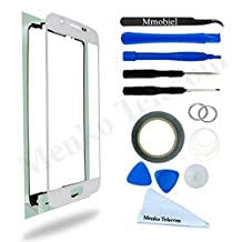 SAMSUNG GALAXY S6 SM G920 WHITE DISPLAY TOUCHSCREEN REPLACEMENT KIT 12 PIECES INCLUDING 1 REPLACEMENT FRONT GLASS FOR SAMSUNG GALAXY S4 / 1 PAIR OF TWEEZERS / 1 ROLL OF 2MM ADHESIVE TAPE / 1 TOOL KIT / 1 MICROFIBER CLEANING CLOTH / WIRE