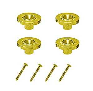 timiy 4pcs round string tree guide retainer for eletric bass guitar gold musical. Black Bedroom Furniture Sets. Home Design Ideas