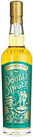 Compass Box The DOUBLE SINGLE Grain & Malt Blended Scotch Whisky Limited Edition 46% - 700 ml in Giftbox
