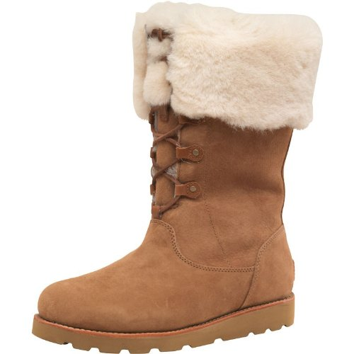 0105d8be583 Womens Ugg Barbarin Boots Chestnut Girls Ladies (4.5 UK 4.5 US 6 EUR ...