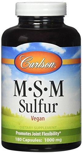 Carlson Labs Sulfur 1000 Capsules
