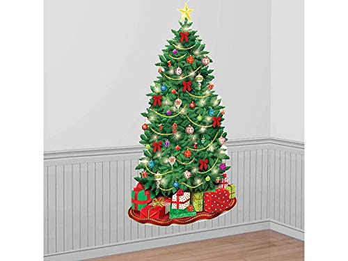 Classic Christmas Tree Scene Setters Add-Ons Accessory | Plastic