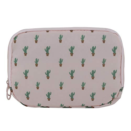NFI essentials Printed Cosmetic Pouch  Peach