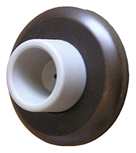Rockwood 085794 409.10B Concave Wrought Wall stop, Satin Bronze Finish, 3'' width, 2'' Length, Dark Bronze by Rockwood