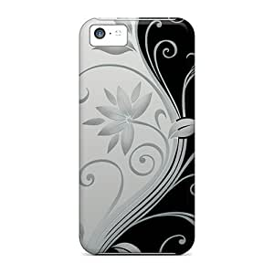 New Snap-on HHaroldshon Skin Case Cover Compatible With Iphone 5c- Blackwhite