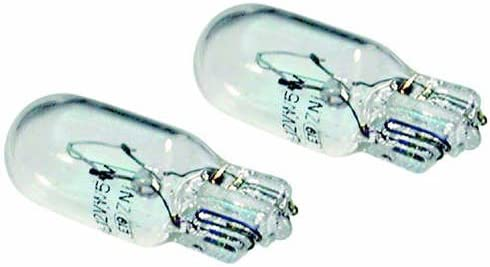 2x Car Bulb 501 12v 5 Watt Capless