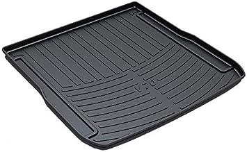 Veh/ículo de l/ínea de carga trasera Tronco bandeja de suelo Hoja de alfombra de la estera de la bandeja de equipaje impermeable for V40 2016 2013 2014 2015 2017 2018 2019 Placa de ajuste de arranque d