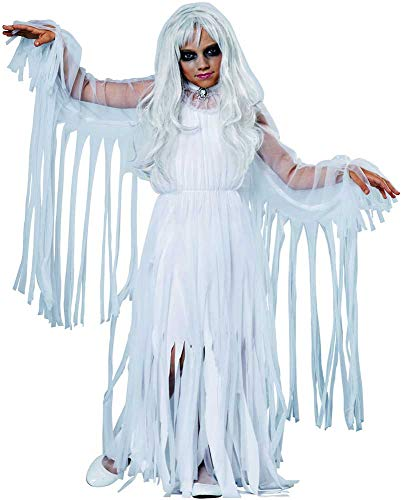 Haunting Ethereal Specter Spirit Dress Ghosts & Monsters Costume Child Girls -