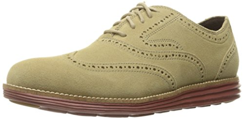 Cole Haan Men's Original Grand Wingtip II Oxford, Milkshake, 10.5 M US
