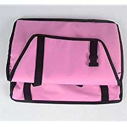 BiBaBoMax Pet Dog Cat Car Seat Bag Carriers Small Animal Pet Mats Waterproof Blanket Cover Mats Protector Breathable for Pet Dog Car (Pink,40x30x25cm)