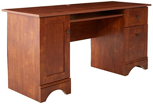Sauder Computer Desk, Brushed Maple Finish by Sauder