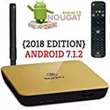 GOLD / BLACK Buzztv XPL3000 2018 EDITION LATEST ANDROID NOUGAT 7.1.2 HD 4K QUAD CORE