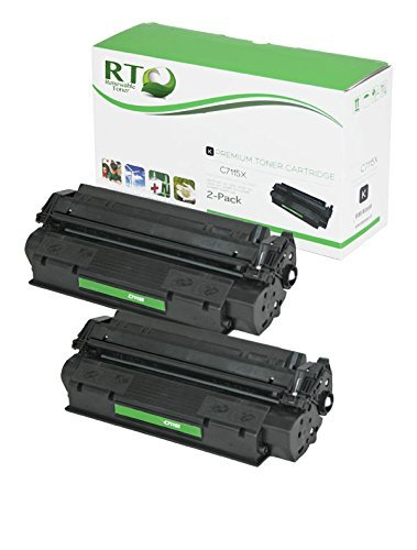 Renewable Toner Compatible Toner Cartridge High Yield Replacement for HP 15X C7115X Laserjet 1200 3300 3310 3320 3380 (Black, ()