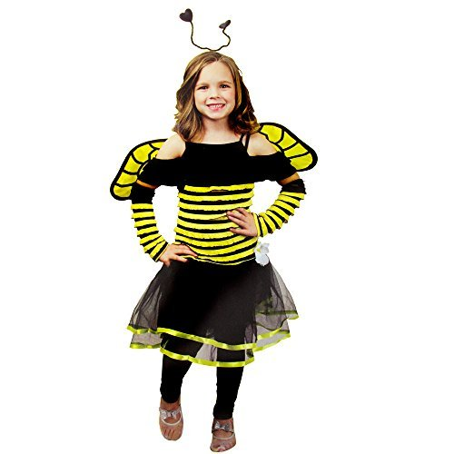 Busy Bee Kids Costume One Size Fits Most 8-10 Years -