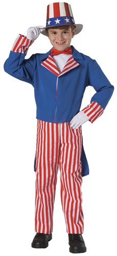Uncle Sam Child Costume - Small (4-6)