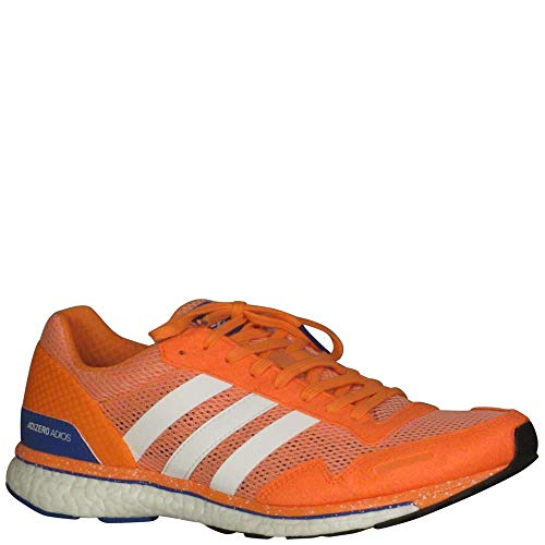 b90690f9d adidas Women s Adizero Adios Running Shoes Chalk Coral White Orange 11 B(M)  US