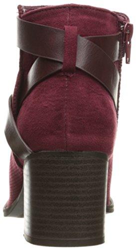 Qupid Women's Dixie-25 Boot Burgundy IOEeU5qL
