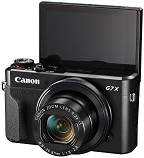 Canon PowerShot Digital Camera [G7 X Mark II] with Wi-Fi & NFC, LCD Screen, and 1-inch Sensor – Black, 100 – 1066C001 41hiWIF 2BbJL