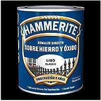 Hammerite Esmalte metálico Satinado Negro 250 ml